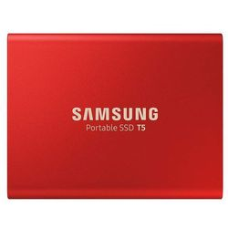 Samsung Portable SSD T5 Red - 500GB