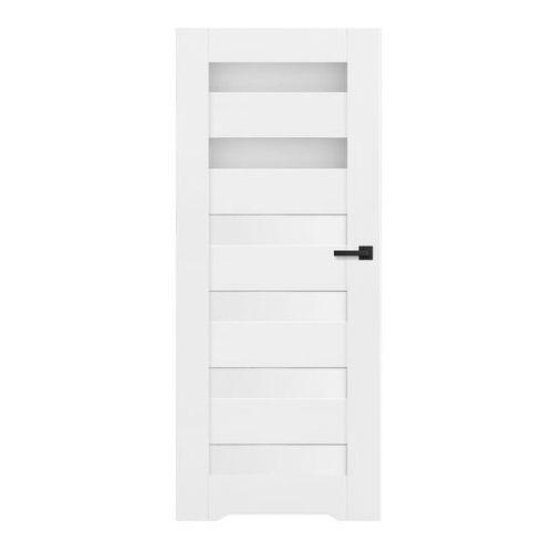 Drzwi wewnętrzne, Drzwi z podcięciem Trame 70 lewe białe