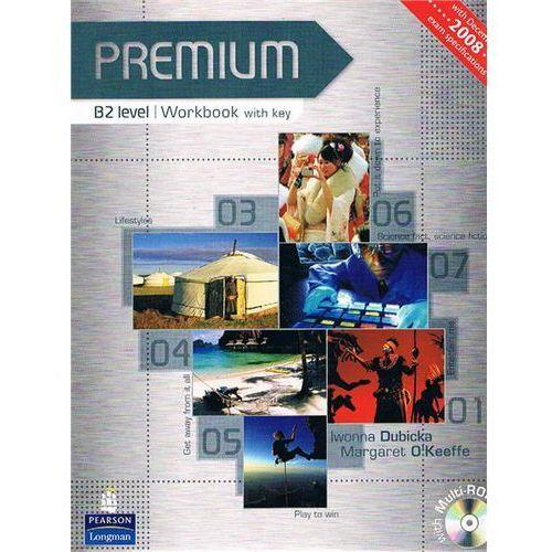 Książki do nauki języka, Premium B2 - Workbook (Key) Plus Multi-Rom [Zeszyt Ćwiczeń Z Kluczem Plus Multi-Rom] (opr. miękka)