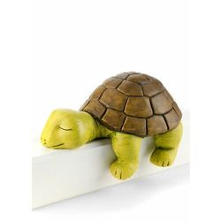 """Figura dekoracyjna """"Żółw Emmi"""" bonprix zielono-szary"""