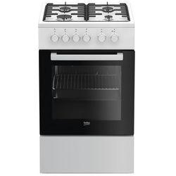 Beko FSS52020DW Kuchnia gazowo-elektryczna