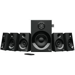 LOGITECH Głośniki Logitech 5.1 Z607 czarne