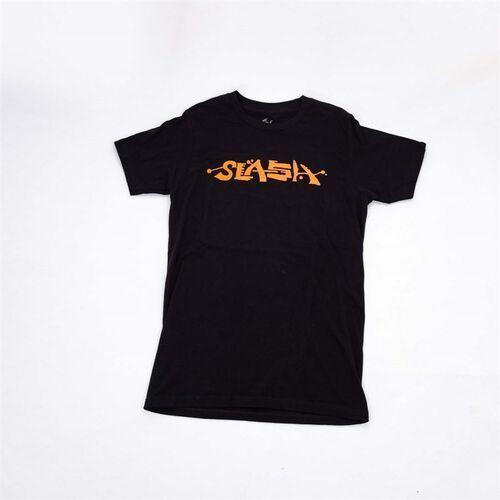 T-shirty męskie, koszulka SLASH - T-Shirt Straight Tee Black (BLACK) rozmiar: S