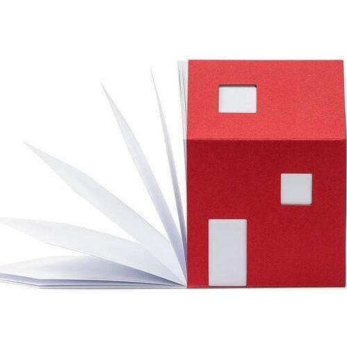 Notesy biznesowe, Notes House of Notes Bauhaus czerwony