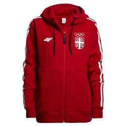 Bluza męska Serbia Pyeongchang 2018 BLM700 - czerwony wiśniowy