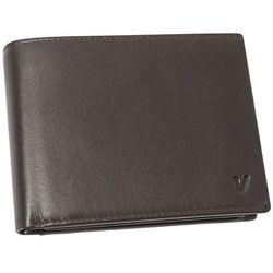Roncato Pascal 41_2903_44 portfel męski skórzany / brązowy - brązowy