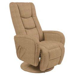 Fotel rozkładany Litos 2X - beżowy