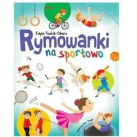 Książki dla dzieci, Rymowanki na sportowo (opr. twarda)