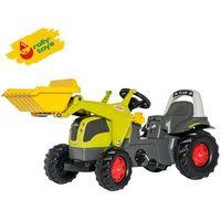 Traktory dla dzieci, Rolly Toys Traktor Kid Claas Elios z łyżką