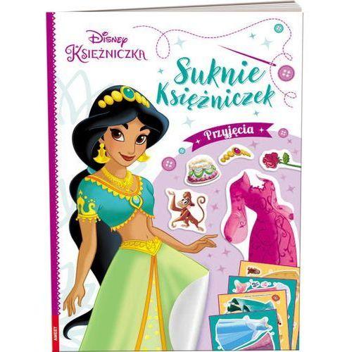 Książki dla dzieci, Disney Księżniczka Suknie księżniczek Przyjęcia (opr. miękka)