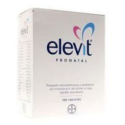 Elevit Pronatal,tabl.powl,100szt,blist(5x20)