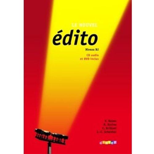 Książki do nauki języka, Le Nouvel Edito niveau B2 (opr. miękka)