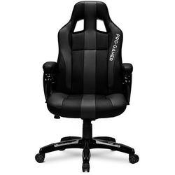 Fotel gamingowy DAYTONA szary PRO-GAMER dla graczy PODKŁADKA PRO-GAMER 80x45cm GRATIS