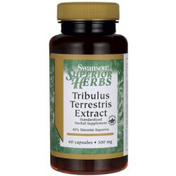 Tribulus Terrestris 500mg 60 kaps.