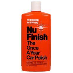 Nu Finish - CAR POLISH poj. 473 ml MLECZKO DO POLEROWANIA USA...