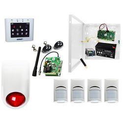 Sklepowy system alarmowy Ropam OptimaGSM-PS + 4xBosch+ TPR-2W-O + Sygnalizator + 2xpilot