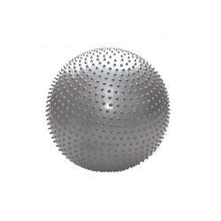 Piłka rahabilitacyjna MASUJĄCA, Kolor POMARAŃCZOWY 55 cm