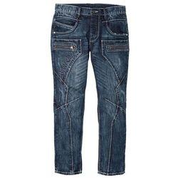 """Dżinsy Regular Fit Straight bonprix niebieski """"used"""""""