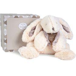 Pluszowy królik w kolorze beżowym duży