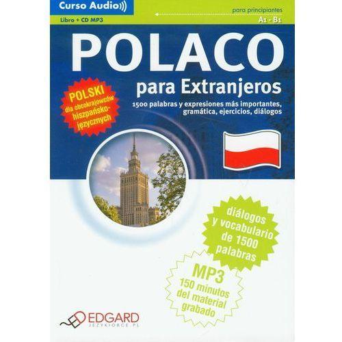 Książki do nauki języka, Polski Dla Obcokrajowców Hiszpańskojęzycznych. Kurs Audio (Książka +Cd Mp3) (opr. miękka)