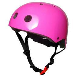 kiddimoto® Kask ochronny Design Sport, Neon rózowy/Harper Beckham - rozm. M, 53-58cm