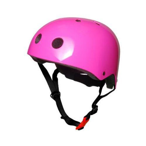 Kaski ochronne dla dzieci, kiddimoto® Kask ochronny Design Sport, Neon rózowy/Harper Beckham - rozm. M, 53-58cm