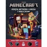 Pozostałe artykuły papiernicze, Minecraft Księga Netheru i Kresu z naklejkami [Milton Stephanie]