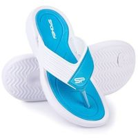 Pozostałe sporty wodne, Klapki basenowe SPOKEY Chillout Niebiesko-Biały (rozmiar 37)