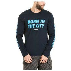 koszulka BENCH - Graphic L/S Dark Navy Blue (NY022) rozmiar: M