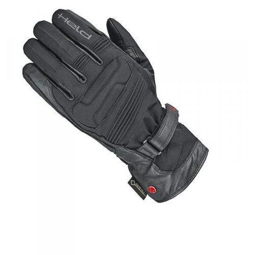 Rękawice motocyklowe, RĘKAWICE SKÓRZANO-TEKSTYLNE HELD LADY SATU II BLACK