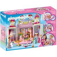 Klocki dla dzieci, Playmobil PRINCESS Play box zamek królewski 4898 wyprzedaż
