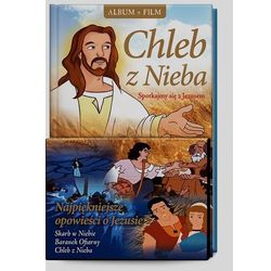 Chleb z Nieba. Spotkajmy się z Jezusem + film DVD wyprzedaż 06/18 (-17%)