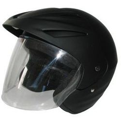 Kask motocyklowy TORQ o1 Otwarty Czarny mat + Zamów z DOSTAWĄ JUTRO!
