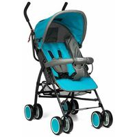 Wózki spacerowe, Wózek spacerówka Moolino Compact Niebiesko-szary