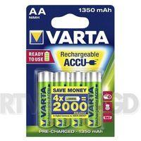 Akumulatorki, VARTA Rechargeable ACCU AA 1350 mAh (4 szt.)