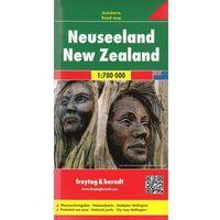 Mapy i atlasy turystyczne, Nowa Zelandia mapa 1:700 000 Freytag & Berndt (opr. twarda)