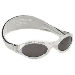 Okulary przeciwsłoneczne dzieci 2-5lat UV400 BANZ - Silver Leaf