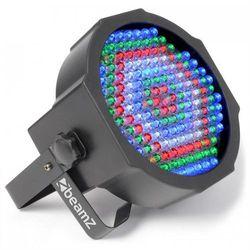 Promiennik FlatPAR Beamz LED 154x 10mm RGBW pilot IR