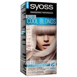 Schwarzkopf Syoss Farba do włosów Cool Blonds 10-55 Ultra Platynowy Blond 1op.