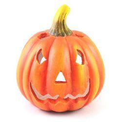 Lampion ceramiczny Dynia na Halloween - 27,5 cm - 1 szt.