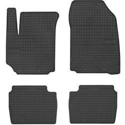 Dywaniki samochodowe gumowe czarne Fiat Croma 2005-2011
