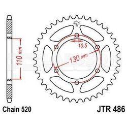 Zębatka tylna stalowa JT 486-41, 41Z, rozmiar 520 2300708 Yamaha YZF-R1 1000
