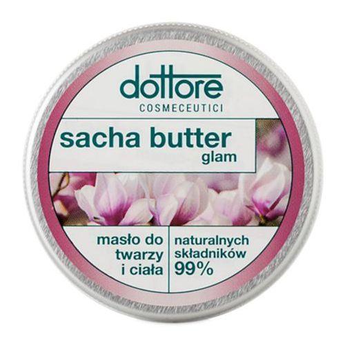 Masła do ciała, dottore SACHA BUTTER GLAM Masło do twarzy i ciała - intensywnie odbudowujące