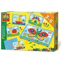 Pozostałe zabawki, Tablica do układania mozaiek z kartami
