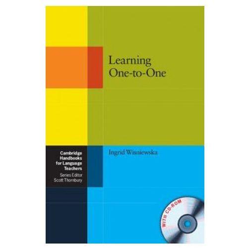 Książki do nauki języka, Learning One-to-One Paperback with CD-ROM Cambridge Handbooks For Language Teachers (opr. miękka)