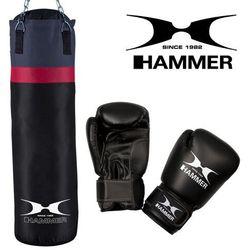 Zestaw bokserski HAMMER Cobra – worek HAMMER Cobra (100cm) + rękawice HAMMER Fit 10 OZ