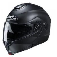 Kaski motocyklowe, Hjc kask systemowy c91 semi flat black