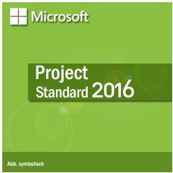 Microsoft Project Standard 2016 Medialess PL