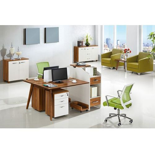 Biurka i stoliki, Nowoczesne biurko 2-stanowiskowe EVOLUTIO B305-2