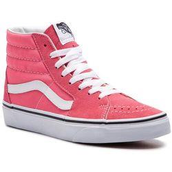 Sneakersy VANS - Sk8-Hi VN0A38GEGY71 Strawberry Pink/Truewhite
